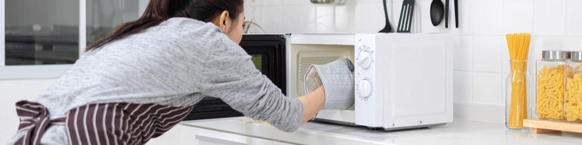 microondas limpieza